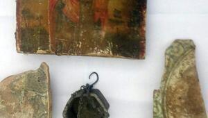 Beyoğlunda tarihi eser operasyonu