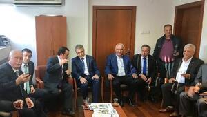 Osmanlı Ocakları Başkanı Canpolattan, Baykala geçmiş olsun ziyareti