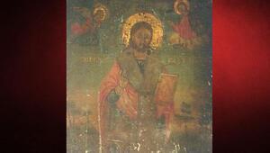 Bin yıllık ikona ele geçti