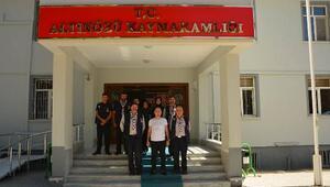 İzcilerden Uygura ziyaret
