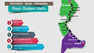 İBB: Eminönü-Alibeyköy tramvay hattının güzergahını Koruma Bölge Kurulu  onayladı