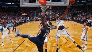 Warriors ilk galibiyetini aldı NBAde...