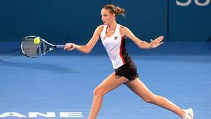Pliskovadan WTA Finallerine rahat başlangıç