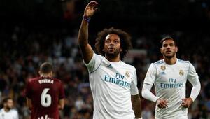 Real Madrid evinde üçledi Güle, oynaya...