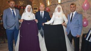 Kilolarından kurtulup, hayallerindeki gelinliklerle yeniden düğün yaptılar