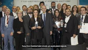 Uluslararası Avrupa Kalite Zirvesi ödülleri sahiplerini buldu