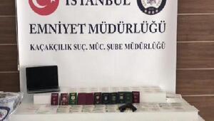 İstanbulda sahte vize operasyonu