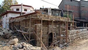 623 yılık hamamda restorasyon çalışması