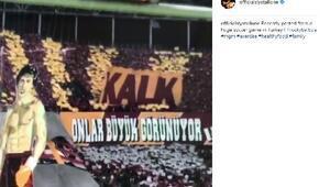 Rockyden Galatasaray kareografi paylaşımı ..