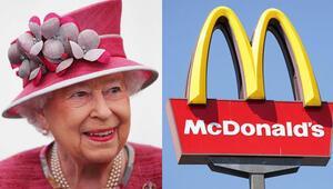 Kraliçe II. Elizabeth'in McDonald's'ı var