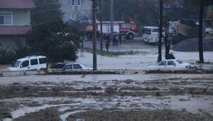 Kaynarcada yağmur sele neden oldu - Ek fotoğraflar