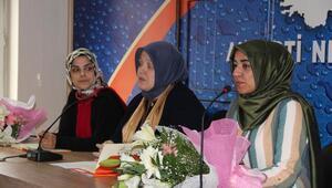 AK Parti il kadın kolları başkanlığı için mülakat yapıldı