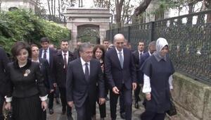 Bakan Kurtulmuş, Özbekistan Cumhurbaşkanı Mirziyoyevi Topkapı Sarayında ağırladı