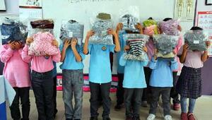 Belediyeden ihtiyaç sahibi öğrencilere kışlık kıyafet