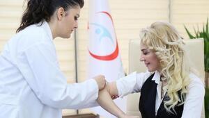 Salnur, Grip olmadan aşınızı yaptırın