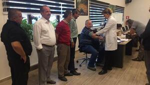 İl Özel İdaresi personeli sağlık taramasından geçti