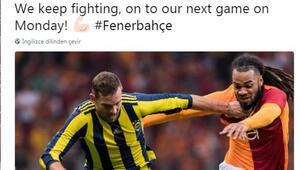 Janssenden Galatasaray gafı Hemen sildi...
