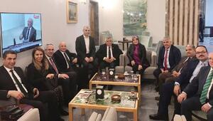 Başkan Çalık ve Kozan Ankarada