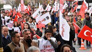 TGBden Sivasta İstiklal Yürüyüşü