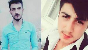 Kazada ölen 15 yıllık arkadaşlar toprağa verildi