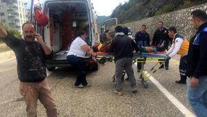 Yayladağında kaza: 2 yaralı