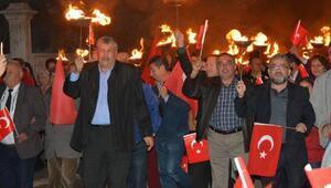 Kızılcabölükte Cumhuriyete fenerli kutlama