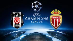 Beşiktaş Monaco maçı saat kaçta hangi kanalda şifreli mi yayınlanacak İşte maçın ilk 11leri