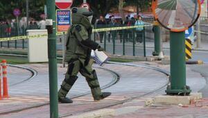Gaziantepte valilik ve emniyet binası kavşağındaki kutu,bomba paniği yaşattı