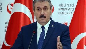 BBP Genel Başkanı Destici: Akaryakıt zammı geri alınmalı