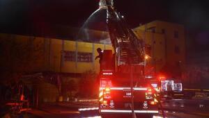 Sulama sistemleri fabrikasında yangın