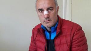 Trabzonda öğrenciden öğretmene yumruklu saldırı iddiası