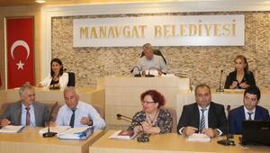 Manavgat meclis toplantısı yapıldı