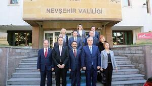 Arnavutluk Başsavcısı Kapadokyada