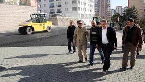 Talasta asfalt çalışmaları