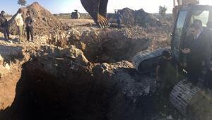Nusaybinden Suriyeye uzanan tünel bulundu