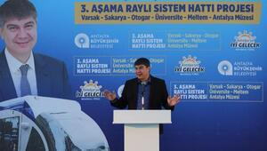 Antalyada raylı sistem referandumu