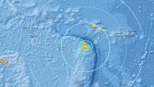 Güney Pasifik Okyanusunda deprem