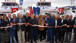 İzmirde Aziz Sancar ve İhsan Alyanak gemileri hizmete girdi