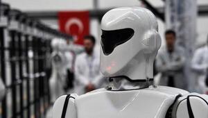 Türkiyenin ilk insansı robot fabrikası Konyada açıldı