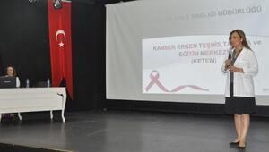 Kemerli kadınlara meme kanseri eğitimi