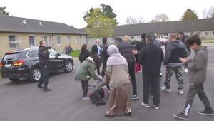 Danimarkalı Bakan'ın aracı mülteciyi ezdi