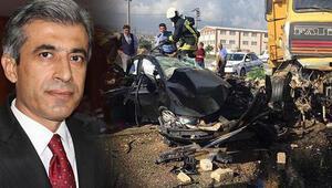 Başsavcı Mustafa Alper'in yaşamını yitirdiği kazada karar