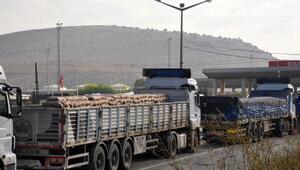 Suriyeye demir ve çimento sevkiyatı başladı