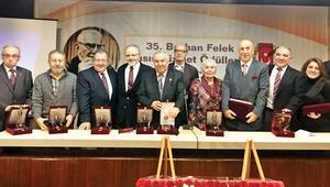 TGC Burhan Felek Ödülleri sahiplerini buldu