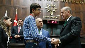 Cumhurbaşkanı, Antalyanın mucit çocuklarını kutladı