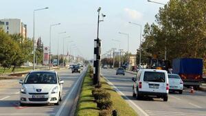 Edirnede EDSden 10 bin 800 sürücüye ceza yazıldı