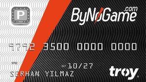ByNoGameden ücretsiz ön ödemeli kart