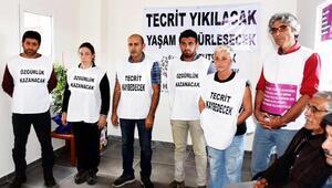 Öcalan için Bodrum HDPde açlık grevi