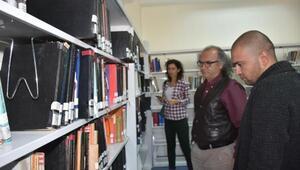 ADÜ Turizm Fakültesine ihtisas kütüphanesi