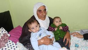 112 yaşındaki Emine Nine, unutulmadı